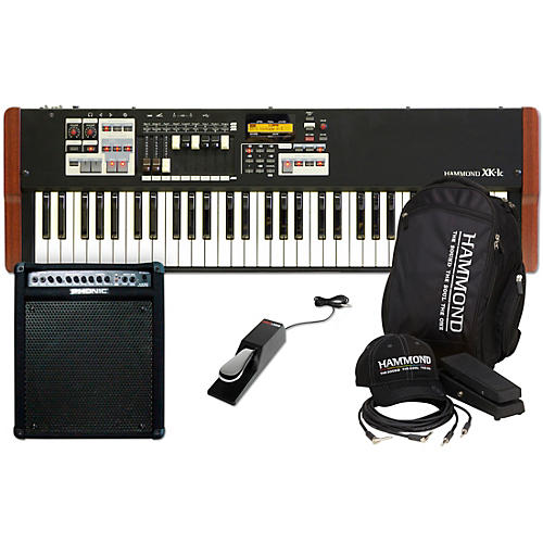 Hammond XK-1C Stage Keyboard with Accessory Pack, Keyboard Amplifier, and Sustain Pedal-thumbnail