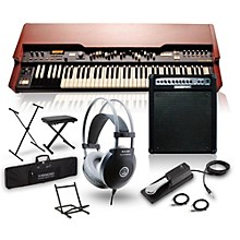 Hammond XK-3c Drawbar Organ with Keyboard Amplifier, Stand, Headphones, Bench and Sustain Pedal