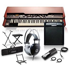 Hammond XK-3c Drawbar Organ with Keyboard Amplifier, Stand, Headphones, Ben...