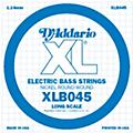 D'Addario XLB045 Nickel Wound Electric Bass Single String  Thumbnail