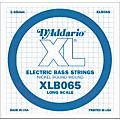 D'Addario XLB065 Extra Long Single Bass String  Thumbnail