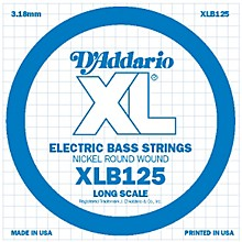 D'Addario XLB125 Nickel Wound Electric Bass Single String