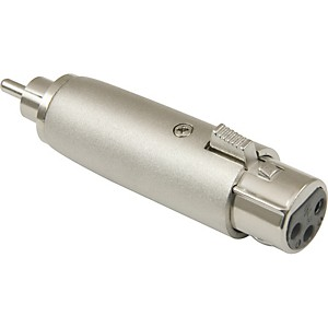 American Recorder Technologies XLR Female to RCA Male Adapter by American Recorder Technologies