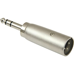 American Recorder Technologies XLR Male to 1/4 inch Male Stereo Adapter by American Recorder Technologies