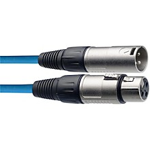 Stagg XLR Microphone Cable 20 ft. - Assorted Colors