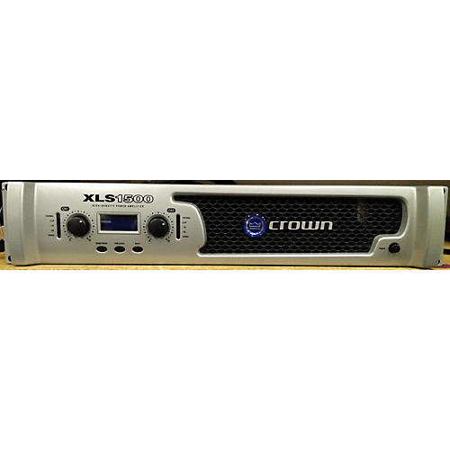 Crown XLS1500 Power Amp