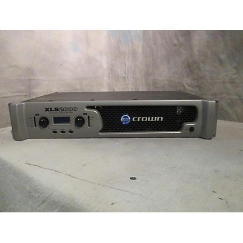 Crown XLS2000 Power Amp