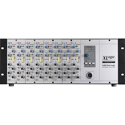 Solid State Logic XLogic X-Rack Fitted With 8 Dynamics Modules