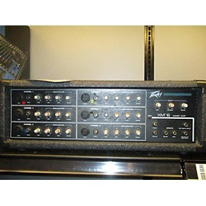 Pre-owned Peavey XM6 SERIES 300 EH MIXER AMP Powered Mixer by Peavey