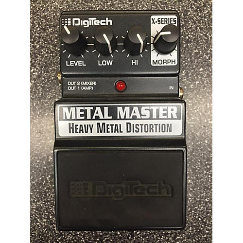 Digitech XMM Metal Master Heavy Metal Distortion Effect Pedal-thumbnail