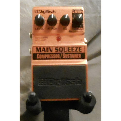 Digitech XMS Main Squeeze Compressor/Sustainer Effect Pedal-thumbnail