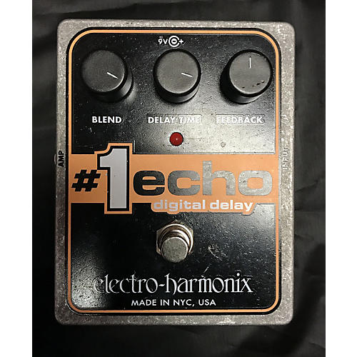 Electro-Harmonix XO #1 Echo Digital Delay Effect Pedal-thumbnail