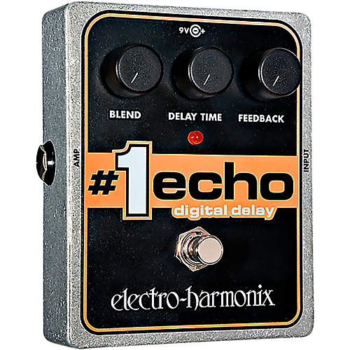 Electro-Harmonix XO #1 Echo Digital Delay Guitar Effects Pedal-thumbnail