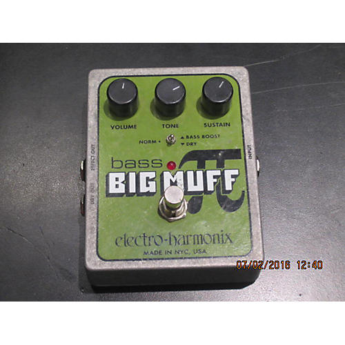 Electro-Harmonix XO Bass Big Muff Distortion Bass Effect Pedal-thumbnail