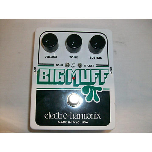 Electro-Harmonix XO Big Muff With Tone Wicker Distortion Effect Pedal