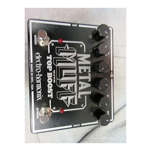 Electro-Harmonix XO Metal Muff With Top Boost Distortion Effect Pedal-thumbnail