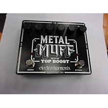 Electro-Harmonix XO Metal Muff With Top Boost Distortion Effect Pedal
