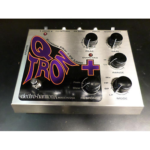 Electro-Harmonix XO Q-Tron Plus Envelope Filter Effect Pedal