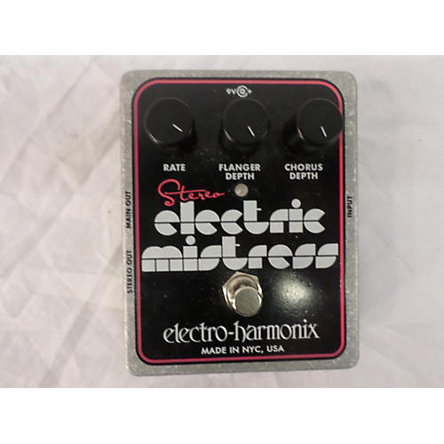 Electro-Harmonix XO Stereo Electric Mistress Flanger / Chorus Effect Pedal