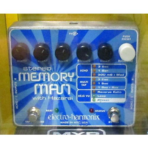Electro-Harmonix XO Stereo Memory Man With Hazarai Delay Effect Pedal-thumbnail