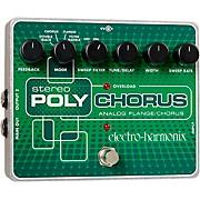 Electro-Harmonix XO Stereo Polychorus Analog Flanger and Chorus Guitar Effects Pedal
