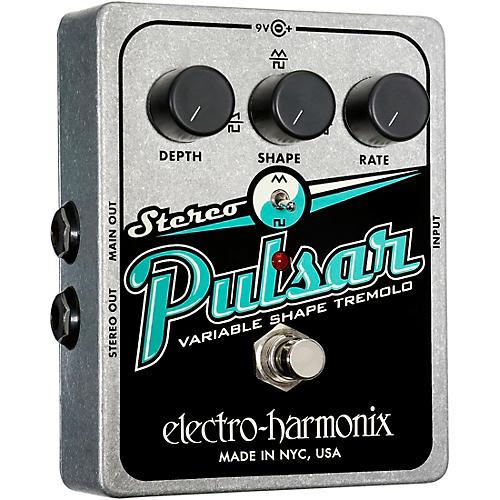 Electro-Harmonix XO Stereo Pulsar Tremolo Guitar Effects Pedal