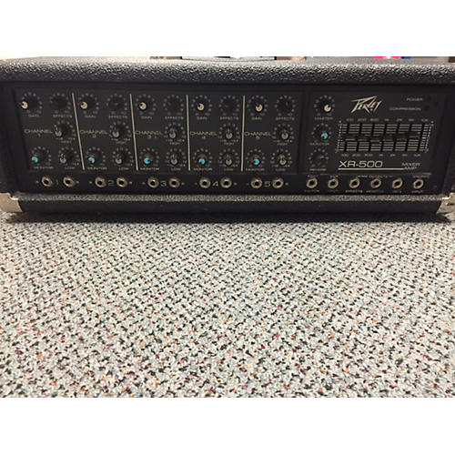Peavey XR-500 Powered Mixer