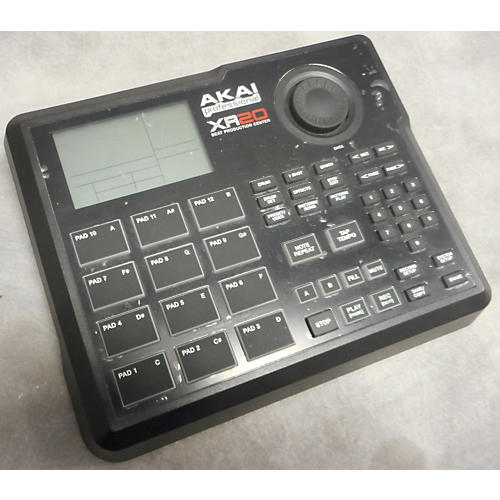 Akai Professional XR20 Beat Production Center KEYB KEYBOAR CONTROL