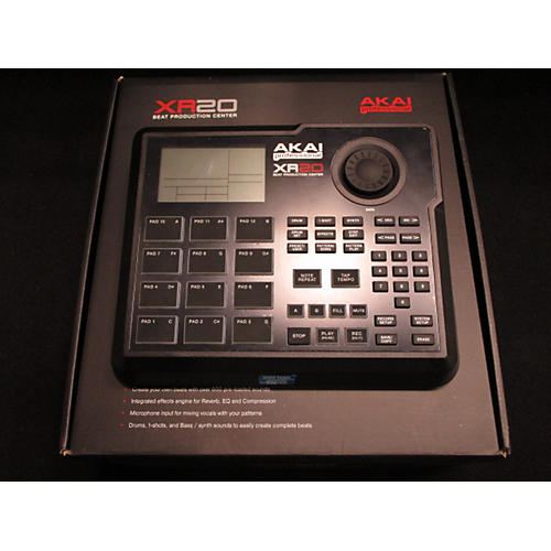 Akai Professional XR20 Beat Production Center Production Controller-thumbnail