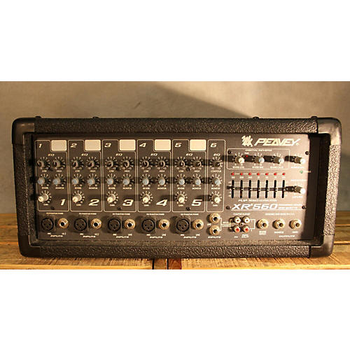 Peavey XR560 Powered Mixer