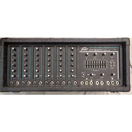 Peavey XR600C Powered Mixer-thumbnail