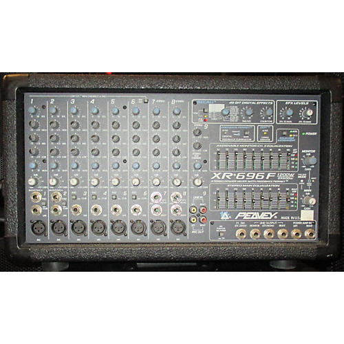 Peavey XR696F Powered Mixer-thumbnail