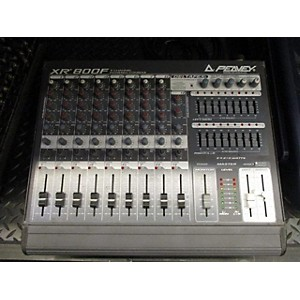 Pre-owned Peavey XR800F Powered Mixer by Peavey