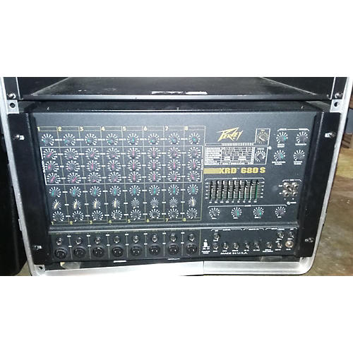 Peavey XRD680S Powered Mixer-thumbnail