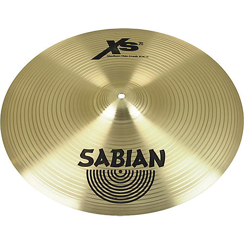 Sabian XS20 Medium-Thin Crash Cymbal