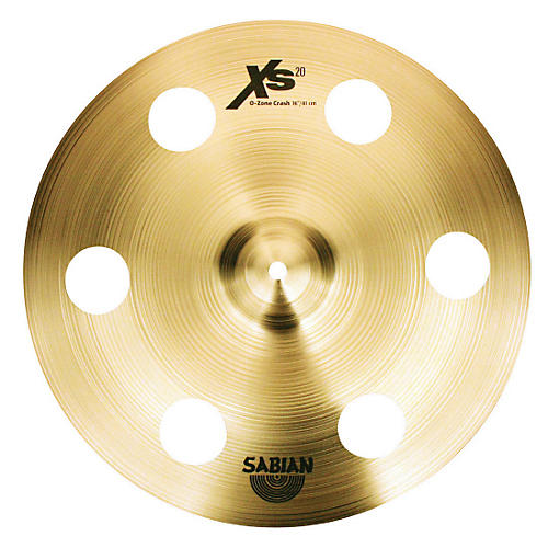Sabian XS20 Ozone Crash Cymbal with Free Basic Cymbal Bag  16 in.