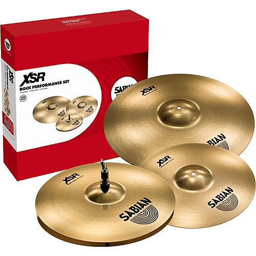 Sabian XSR Rock Performance Set Cymbals-thumbnail