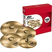 "Sabian XSR Series Performance Set with a Free 18"" Crash"