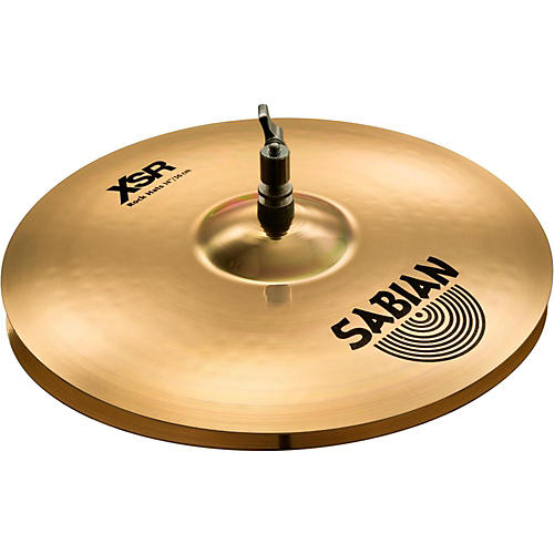 Sabian XSR Series Rock Hi-Hat Cymbal Pair-thumbnail