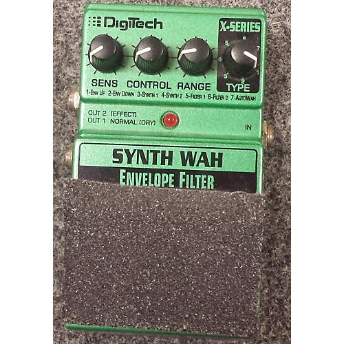 Digitech XSW Synth Wah Effect Pedal