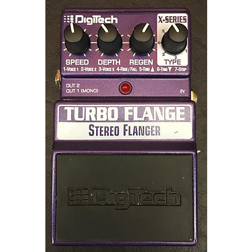 Digitech XTF Turbo Flanger Effect Pedal-thumbnail