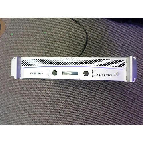 Crown XTI2000 Power Amp-thumbnail