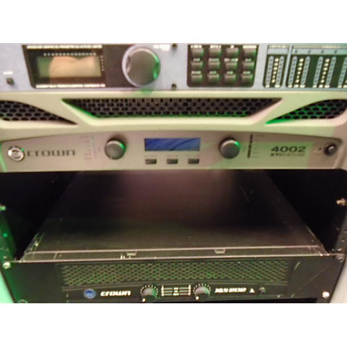 Crown XTI4002 Power Amp