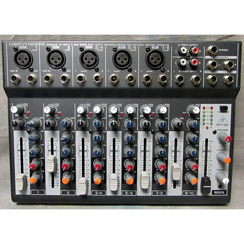 Behringer Xenyx 1002B 5-Channel Unpowered Mixer-thumbnail