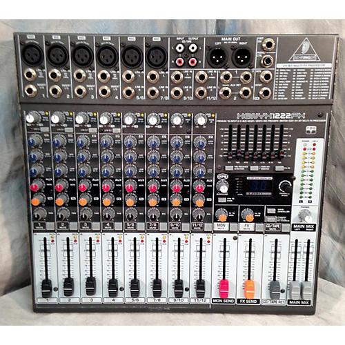 Behringer Xenyx 1222fx Digital Mixer