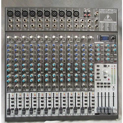Behringer Xenyx 2442FX Unpowered Mixer