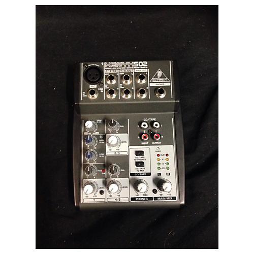 Behringer Xenyx 502 Unpowered Mixer-thumbnail