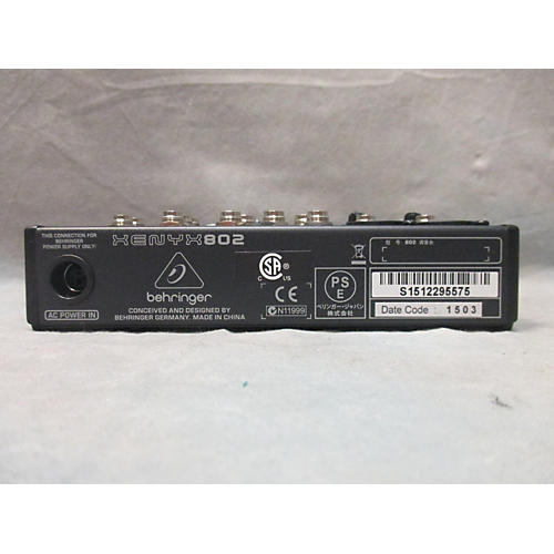 Behringer Xenyx 802 Unpowered Mixer-thumbnail