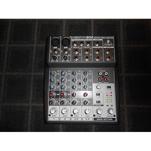 Used Behringer Xenyx 802 Unpowered Mixer