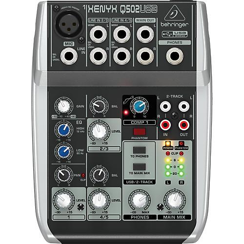 Behringer Xenyx Q502USB Mixer-thumbnail